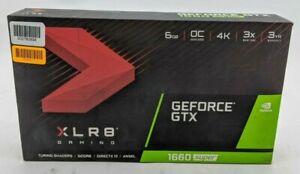 XLR8 Gaming GeForce GTX 1660 Super Graphics Card 6GB GDDR6 Overclocked -CSS1159