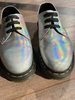 dr martens Holographic Silver Shoes  UK 4
