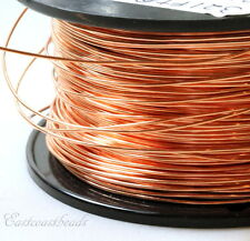 Copper Wire, 14 Gauge, Dead Soft, Copper Jewelry Wire, Craft Wire, 10 Feet, 001