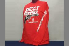 Smith & Wesson - Shoot Happens - Long Sleeve T-Shirt - XL