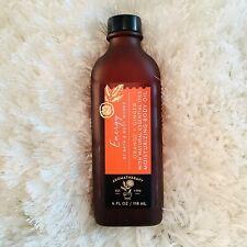 Bath & Body Works Aromatherapy ENERGY BODY OIL, Massage Oil Orange + Ginger