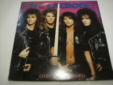 D.C. Lacroix ‎– Livin' By The Sword LP Glam/Hair