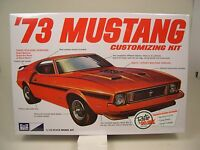 1973 FORD MUSTANG RETRO DELUXE EDITION MPC 1:25 SCALE 3n1 PLASTIC MODEL CAR KIT