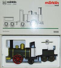 Märklin 11111 Dampflokomotive Storchenbein mit Uhrwerkantrieb NEU-OVP (S)