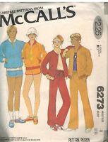 6273 Vintage McCalls Sewing Pattern Misses Windbreaker Pants Shorts T Shirt OOP