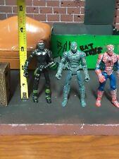 "lot of 3 Hasbro spider-man Movie. Action Figure  3.5"" rare."
