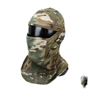 TMC Tactical Mesh Balaclava Face Mask Headscarf Full Face Mask Cycling Military