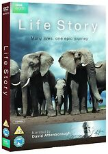 LIFE STORY (2014): DAVID ATTENBOROUGH - Brand New BBC TV Series -  DVD Set UK