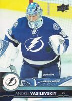 2017-18 Upper Deck Hockey #165 Andrei Vasilevskiy Tampa Bay Lightning