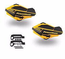 PowerMadd SENTINEL Handguard Guards KIT Yellow/Black Yamaha Raptor 700 34401