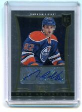 2013-14 Panini Dual RC Class #220 Mark Arcobello Oilers Autographed jh5