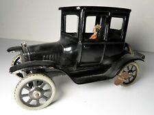 Vintage Bing Tin Wind Up Ford 1923 Model T Coupe