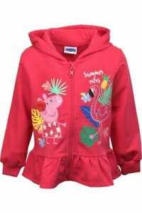 Girls Peppa Pig Jumper Hoodie 3-4 years NWT #S BUY 5 GET 10% OFF