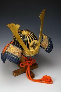 Japanese Wearable Samurai Helmet -Nice Vintage Condition Product-