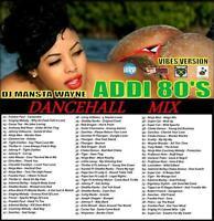 REGGAE DANCEHALL 80'S MIX CD