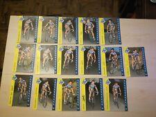 LOTTO stock 16 CARTOLINE Ciclismo Mapei squadra GS 1996 AUTOGRAFATE