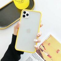 For iPhone 12 iPhone 11, 11 Pro Max Case Shell Shockproof Soft Edge Bumper Cover