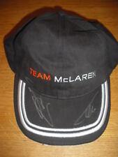 Fernando Alonso + Jenson Button firmato McLaren F1 Cap * RARO *
