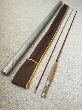 Rare Orvis 2 Pc Impregnated #99 7-6� Split Bamboo Fly Rod/Sock/Tube See Pics Nr