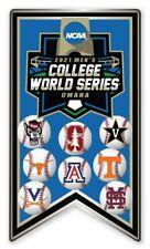 2021 NCAA College World Série 8 Équipe Broche Look Pour Cws Program En Our Ebay