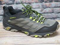 Merrell Men's Olive/Black Waterproof Trail Hiker J37607 Moab FST