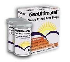 100 Test Strips, For OneTouch ultra / 2 / mini meters, Fast & Accurate results