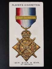 No.20 THE 1914 STAR & BAR Gt.Britain, War Decorations & Medals PLAYERS 1927