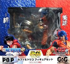 Used Megahouse Portrait.Of.Pirates P.O.P Neo EX Luffy & Toriko Limited PAINTED