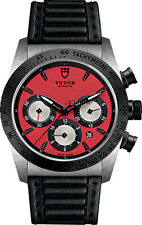 42010N-0006 | BRAND NEW & AUTHENTIC TUDOR FASTRIDER CHRONO RED DIAL MEN'S WATCH
