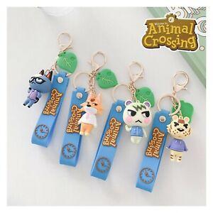 Animal Crossing New Horizon  Keyring Keychain Pendant Bag Charm Backpack Buddy