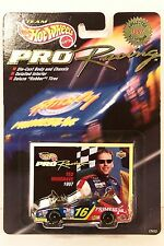 HOT WHEELS ~ PRO RACING ~ TED MUSGRAVE ~ #16 FAMILY CHANNEL ~ 1/64
