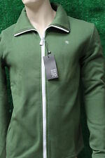 Men's Trendy Sub Seventy Forest Green Zip Up Fleece Jacket Sub 70 S,M,L,XXL New