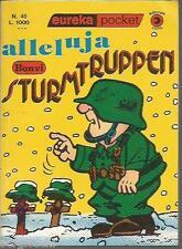 EUREKA POCKET # 40 -BONVI- ALLELUJA STURMTRUPPEN -1a EDIZIONE OTTOBRE 1976