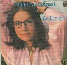 vinyl single 45 NANA MOUSKOURI LA PROVENCE  GERMANY
