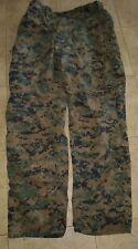 New USMC Woodland MARPAT FROG Combat Ensemble Pants Trouser Size M-R