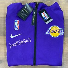 Nike Los Angeles Lakers Mens 2019-20 Therma Flex Showtime Full-Zip Hoodie Jacket