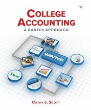 College Accounting: A Career Approach (with Quickbooks Accounting 2013-ExLibrary
