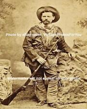 Old/Wild West Scout Dodge City Saloon Keeper Percussion Rifle Bowie Knife Photo