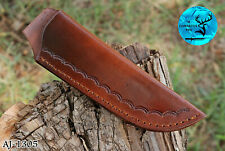 """9"""" Inch Hand Made Pure Cow Leather Sheath For Knives & Other Tools - Aj 1305"""