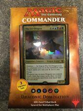 MTG Draconic Domination,  SEALED Magic the Gathering,  Commander 2017