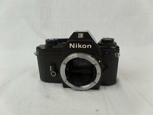 Nikon EM Vintage SLR Camera Body 35mm Film