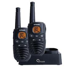 ORICOM 1 WATT 80 CHANNEL HANDHELD UHF TWIN PACK CB RADIO 2 WAY HAND HELD WALKIE