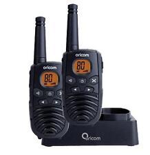 ORICOM 1 WATT 80 CHANNEL HANDHELD UHF TWIN PACK CB RADIO 2 WAY HAND HELD WALKIE