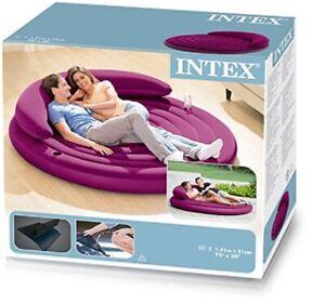 INTEX Inflatable Camping Premium Comfort Air Bed Lounge(#68881NP)
