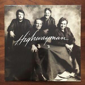 HIGHWAYMAN 2 1990 UK Original CBS 466652 1 Waylon Cash Nelson VINYL LP NM