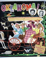 "Rare Paper Doll Book 1956 of ""Oklahoma"" - "" Shirley Jones"" & ""Gordon MacRae"" *"
