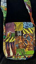 NEW Handmade African Messenger Bag - Purse - African print material