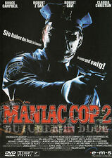 Maniac Cop 2 , Butcher in blue , 100% uncut , new and sealed , William Lustig