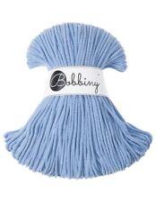 Bobbiny koord color: BABY BLUE  / 100% Cotton 5mm Bobbiny Rope 100m Macrame Cord