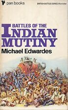 MICHAEL EDWARDES BATTLES OF THE INDIAN MUTINY PAN FIRST EDITION PAPERBACKS 1970